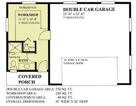 2 floor plans with garage 2 car garage with workshop 9830sw architectural