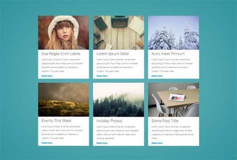 wordpress vertical layout how to display your wordpress posts in a grid layout