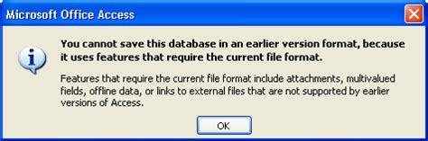 menyimpan file indesign untuk versi yang lebih lama pengenalan ke format file access 2007 access