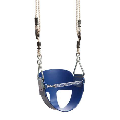infant swing seat swing slide climb blue toddler swing seat bunnings warehouse