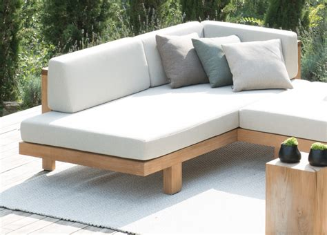 tribu pure corner garden sofa tribu furniture   modern