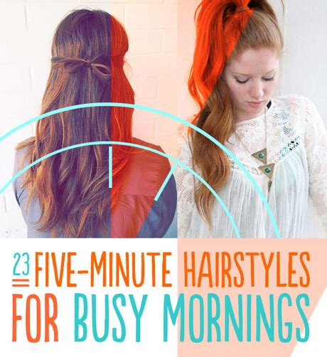 7 quick easy 5 minute hairstyles youtube fast and easy hairstyles for short hair