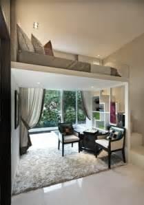 bett im wohnzimmer ideen das hochbett ein traumbett f 252 r kinder und erwachsene