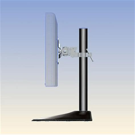 ergotech 100 d16 b01 single led monitor desk stand with 16