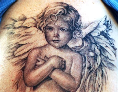 realistic angel tattoo designs 55 baby tattoos designs with meanings
