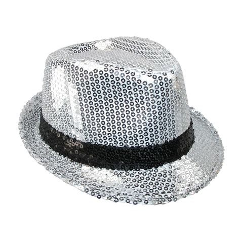 womens dressy sequin fedora hat by something special
