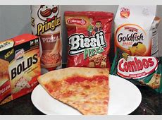 Pizza-Flavored Snacks - Do they taste like pizza? - Thrillist Arby S Meat Mountain