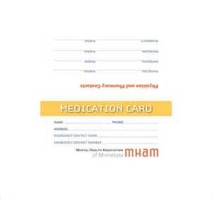 med card template card templates 107 free word excel ppt pdf psd ai