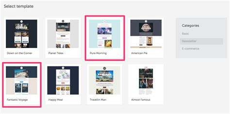 layout de email how to pick the right email layout type email design