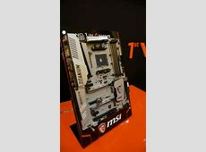 MSI Shows Off AMD AM4 X370 Motherboards For RYZEN CPUs M.2 Pcie X16