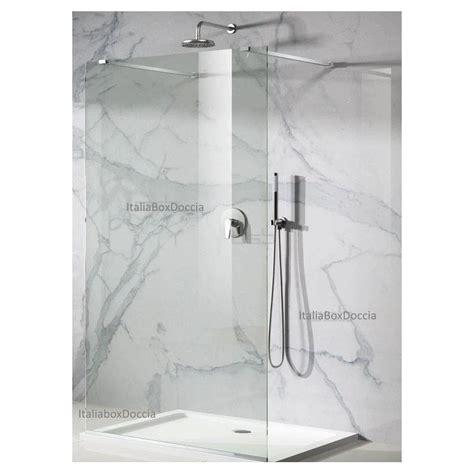pareti doccia in cristallo box doccia parete walk in cristallo 8 mm con trattamento