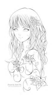 Galerry coloring pages flower and butterfly
