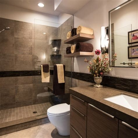 Bathrooms Color Ideas Modern Bathroom Colors Brown Color Shades Chic Bathroom Interior Design Ideas Wooden Vanity