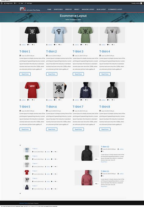 custom layout wordpress plugin mega posts and custom posts display wp plugin by ad theme
