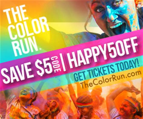 the color run dc thecolorrun offers 5 registration frugallydelish
