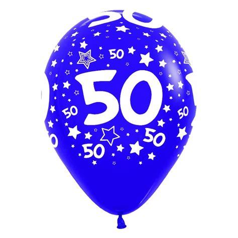 Imagenes De Cumpleaños Numero 50 | globos n 250 mero 50 12 quot 30cm en globos con n 250 meros para