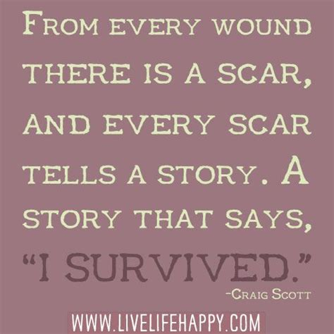 i survived to tell you a victim s journey to becoming a survivor books from every wound there is a scar and every scar tells a