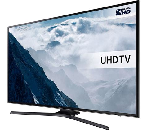 buy samsung ue50ku6000 smart 4k ultra hd hdr 50 quot led tv th w513b 2 0 sound bar free delivery