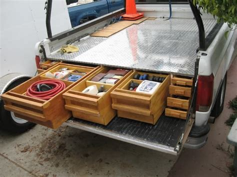 truck bed organizer diy 25 best ideas about truck bed storage on pinterest