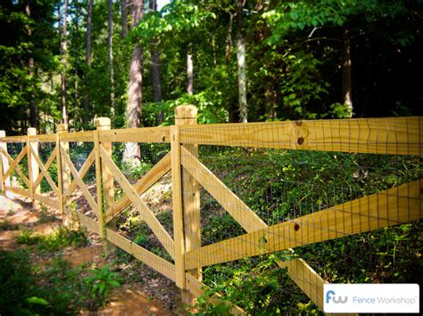 wood wire fence on wire fence fence and fencing fence workshop residential commercial fence installation company