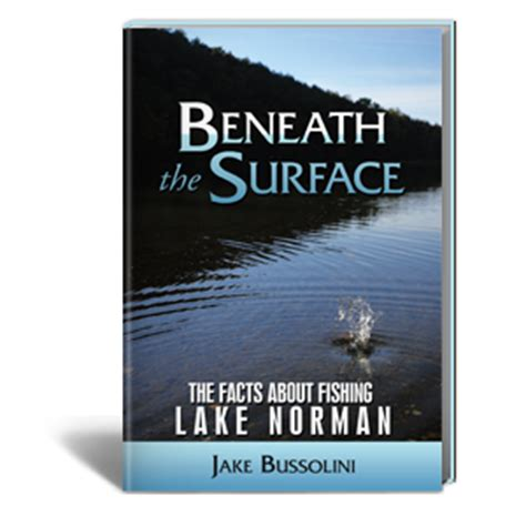 beneath the surface books beneath the surface the facts about fishing lake norman