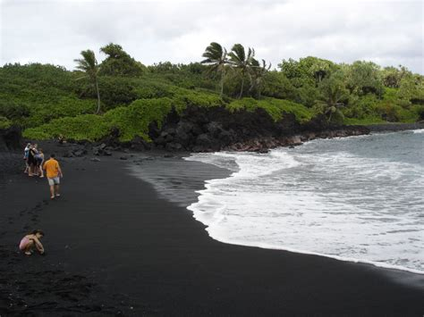 black sand beaches top 10 most famous black sand beaches in the world