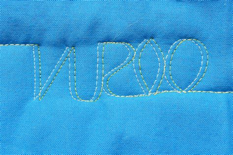 free motion quilting tutorial blog free motion quilting with a double needle weallsew