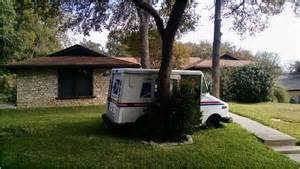 Retaining Wall Front Yard - postal truck accident in our front yard