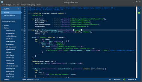 themes brackets editor افضل محرر اكواد للمبرمجين 4 برامج محرر ويب بتصميم بسيط