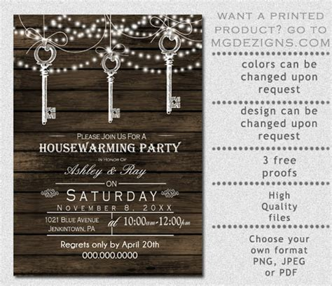 free housewarming invitation card template 28 housewarming invitation templates free sle