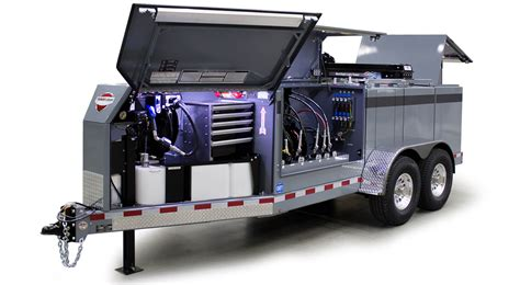 mobile services 440 gallon configurable lube and mobile service trailer