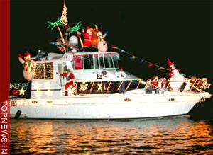 boat light up fort lauderdal christmas no snow no problem for fort lauderdale s boat parade topnews