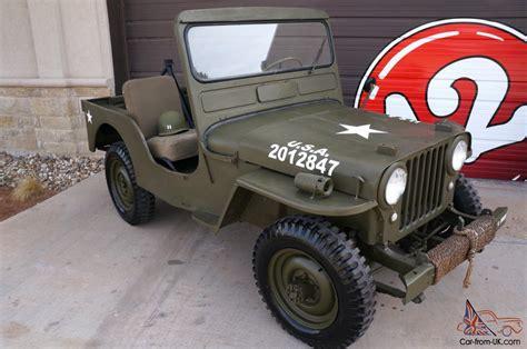 willys military jeep willys cj3a military jeep cj 3a