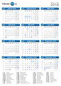 Calendar 2018 Deutschland Kalender 2018