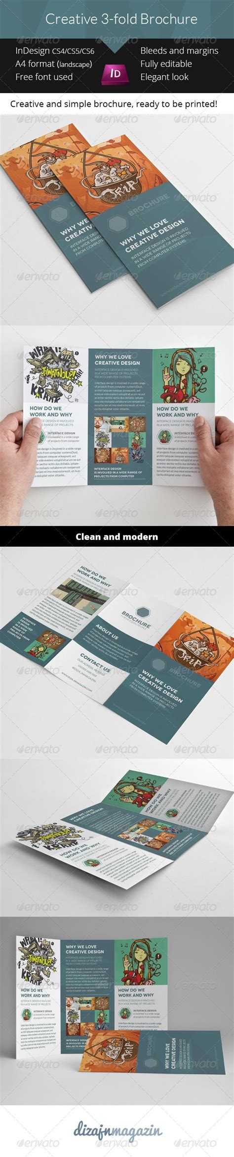 3 fold brochure template usefullhand net pin by josip vrbic on design pinterest