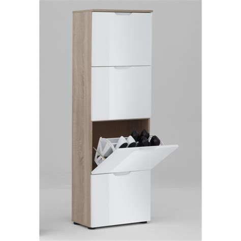 gloss white shoe cabinet with 4 drawer for 163 179 95