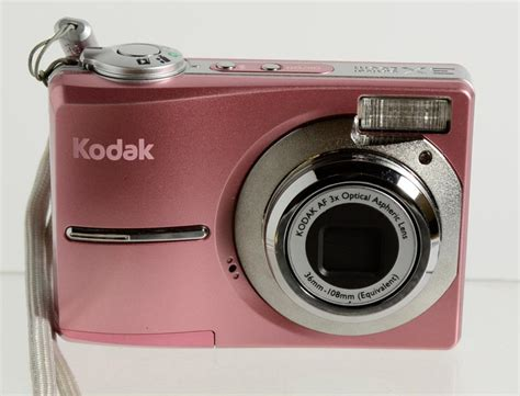 Pink Leather Digital By Kodak by Kodak Easyshare C813 8 2 Mp Digital Pink Ebay