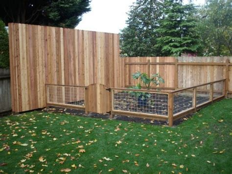 Garden Fence Ideas Garden Fence Made Of Wood One Decor