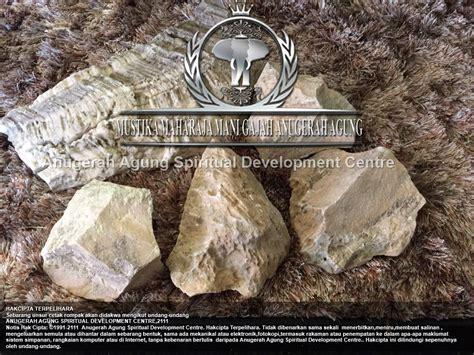 Fosil Mg Putih program mustika maharaja gajah anugerah agung tingkat