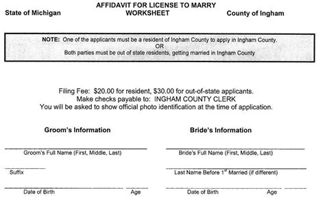 Ottawa County Michigan Marriage Records How Clerk Would Tweak Forms If Supreme Court Legalizes Marriage Mlive