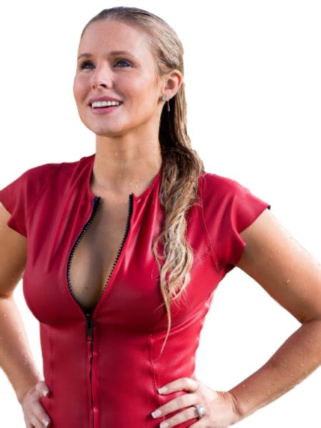 kristen bell in chips 2017 movie chips kristen bell karen red leather vest