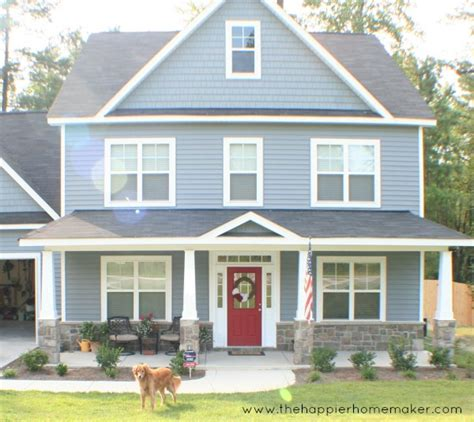 i have a blue house with a blue window carolina new construction home tour debbiedoos