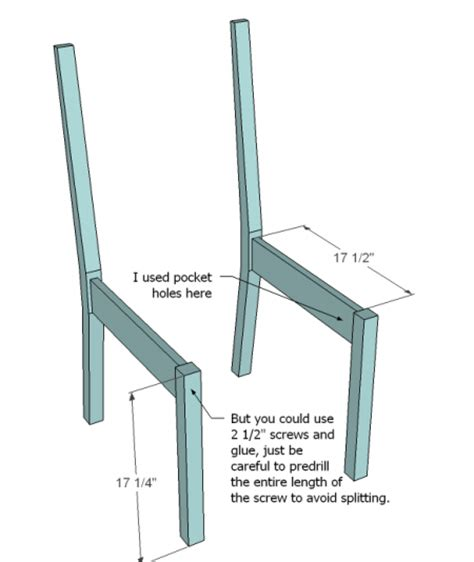 Wooden Dining Chair Plans White Build A Classic Chairs Made Simple Free And Easy Diy Project And Furniture Plans