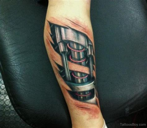 biomechanical tattoo robot biomechanical tattoos tattoo designs tattoo pictures