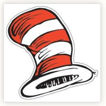 cat in the hat template printable hat