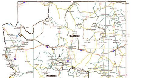 map of northern arizona map of northern arizona bnhspine