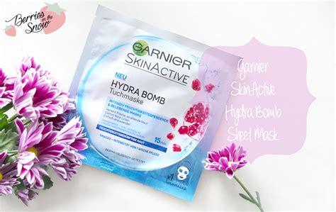 Masker Sheet Garnier review garnier skin active hydra bomb sheet mask