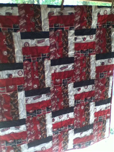 Quilt Shops In Alabama by Roll Tide Alabama Football Baby Quilt