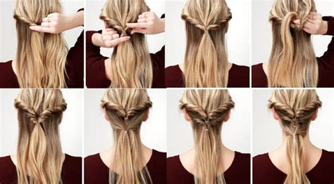 semirecogidos faciles para hacer en casa peinados f 193 ciles para cabello largo hoy bella consejos