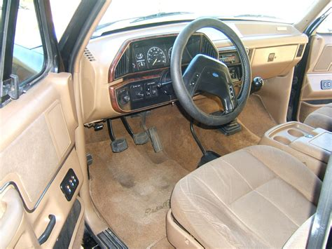1990 ford bronco interior parts supercharged 1990 ford bronco eddie bauer 5 speed bring a trailer